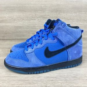 Nike Dunk High GS Women's Comet Blue Suede